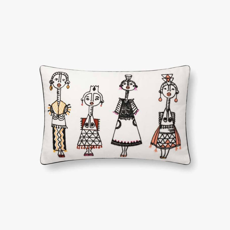 "Justina Blakeney: Tribal Women Pillow 13""X 21"""