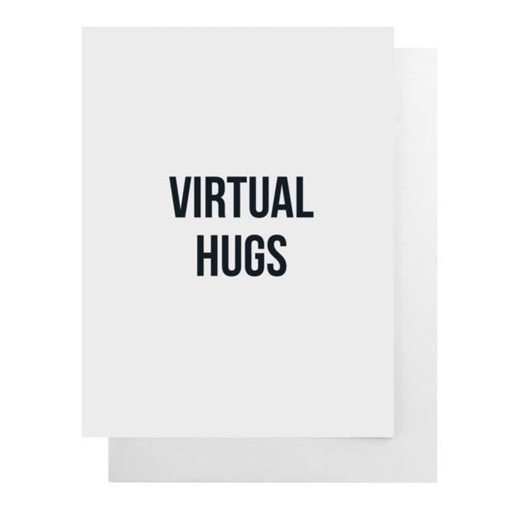 Virtual Hugs - Greeting Card
