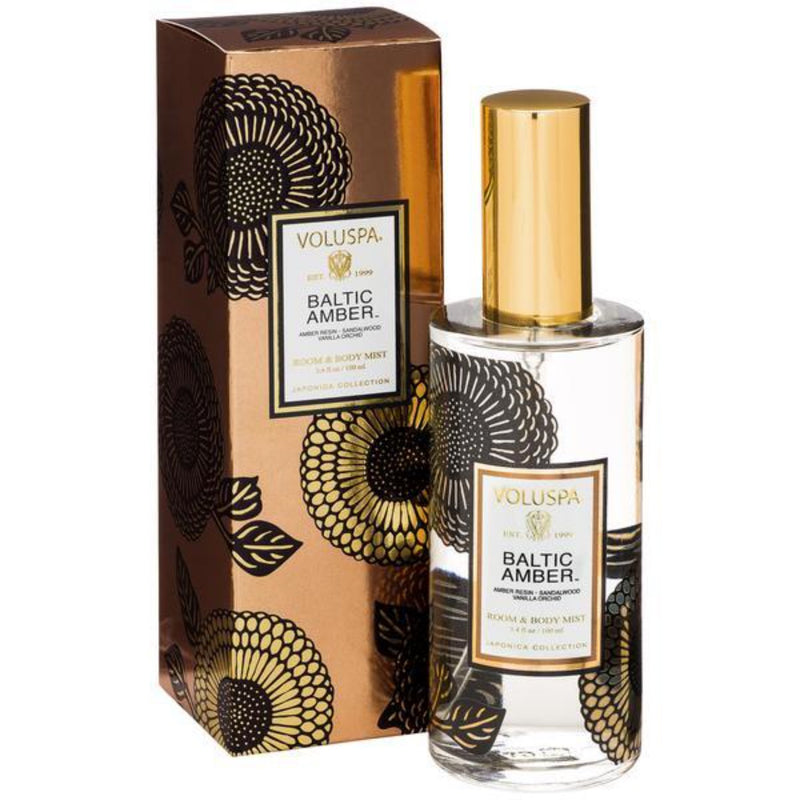 Voluspa: Baltic Amber Room & Body Spray