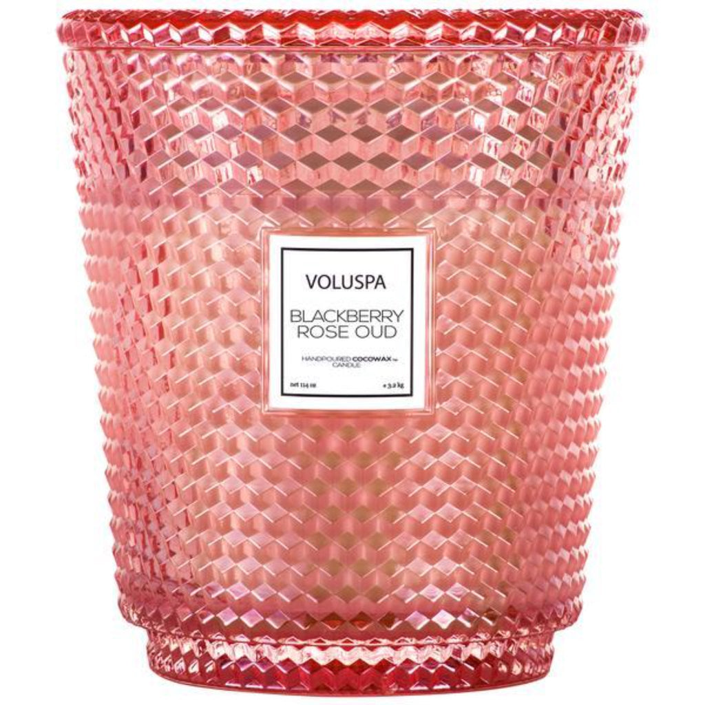 Voluspa: Blackberry Rose Oud 5 Wick Hearth Candle