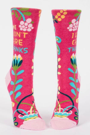 blue-q-SW483-hi-i-dont-care-crew-socks-pink