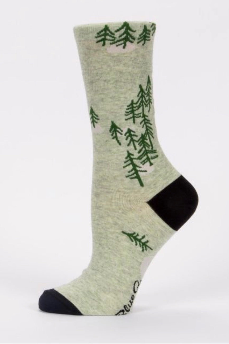 blue-q-SW502-fucing-love-it-woods-green-crew-socks-side