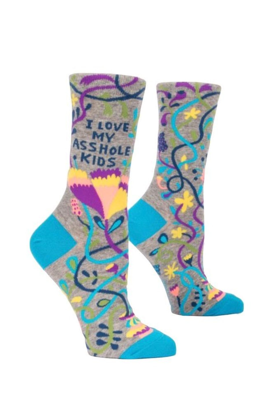 I Love My A**hole Kids Women's Crew Socks
