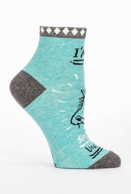 blue-q-special-unicorn-ankle-sock