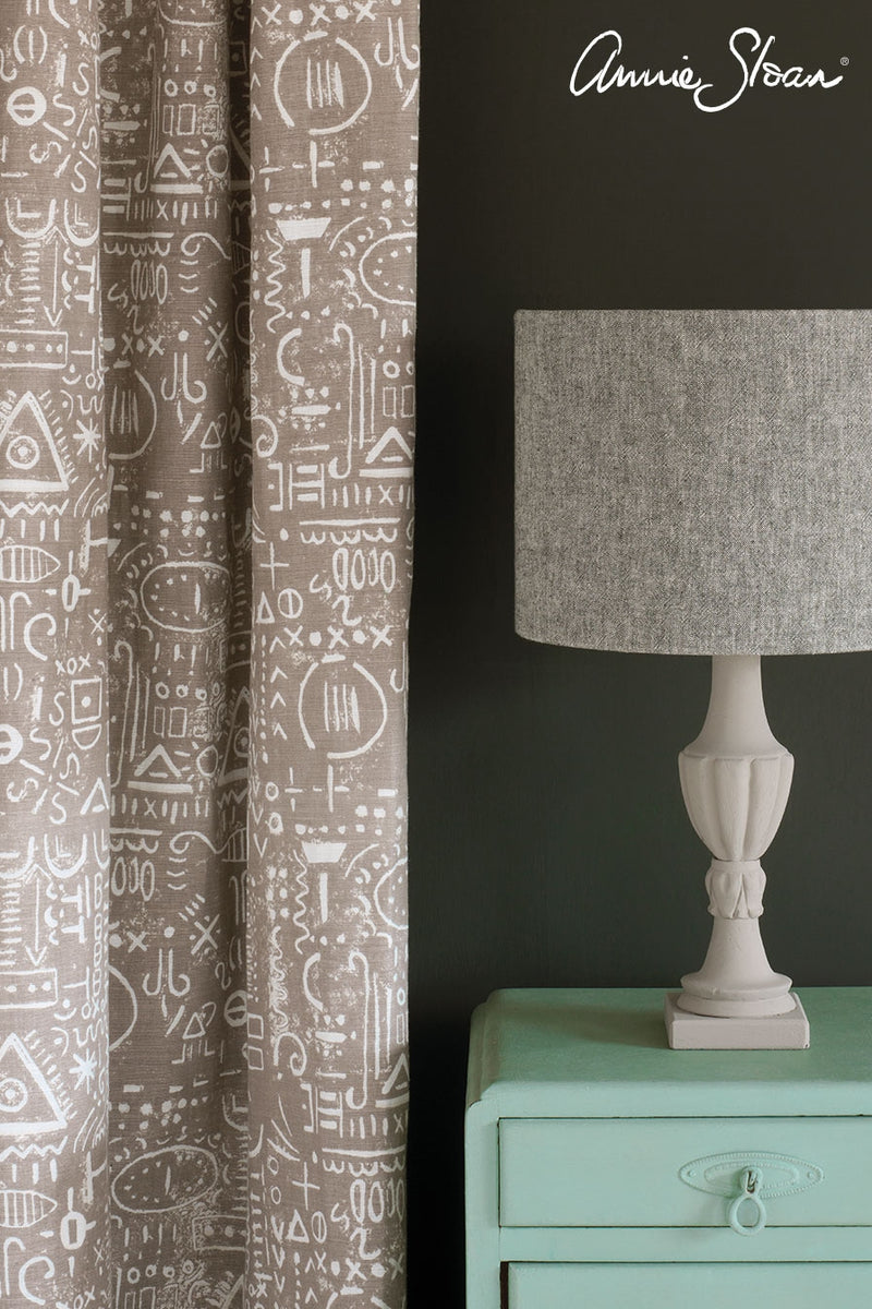 duck-egg-blue-side-table_-graphite-wall-paint_-tacit-in-french-linen-curtain_-linen-union-in-graphite-_-old-white-lampshade_-72dpi-image-3