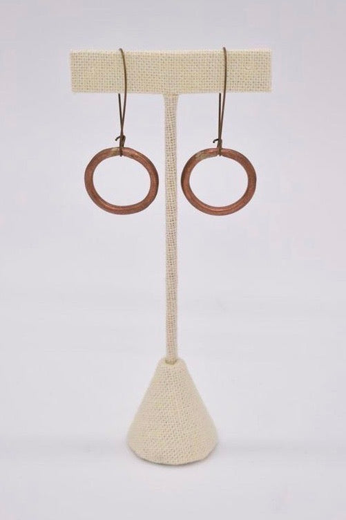 Ammo Rings Earring- Copper