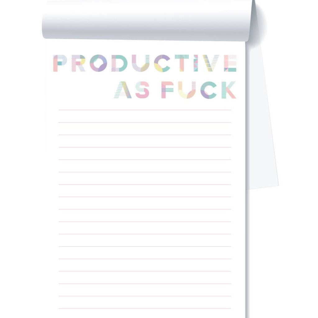 Productive as F*ck Notepad