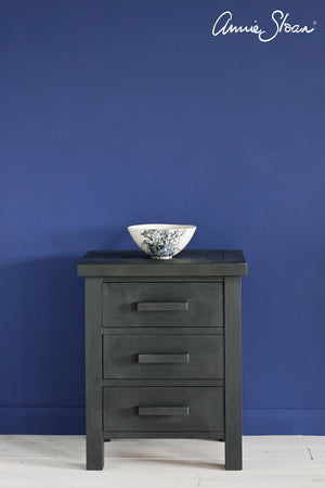 graphite-side-table_-napoleonic-blue-wall-paint_-dulcet-in-graphite-curtain_-linen-union-in-graphite-_-old-white-lamshade_-72dpi-image-1