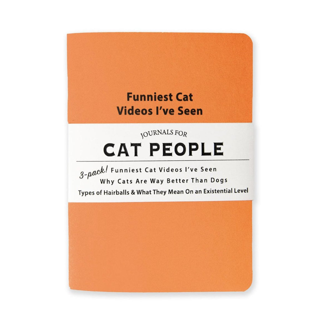 JOURNAL 3-PACK: CAT PEOPLE JOURNAL