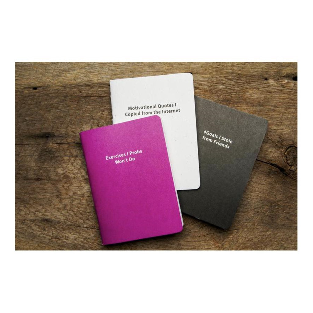 JOURNAL 3-PACK: #GOALS JOURNAL