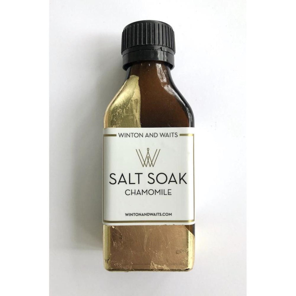 Small Chamomile Salt Soak-3.4oz