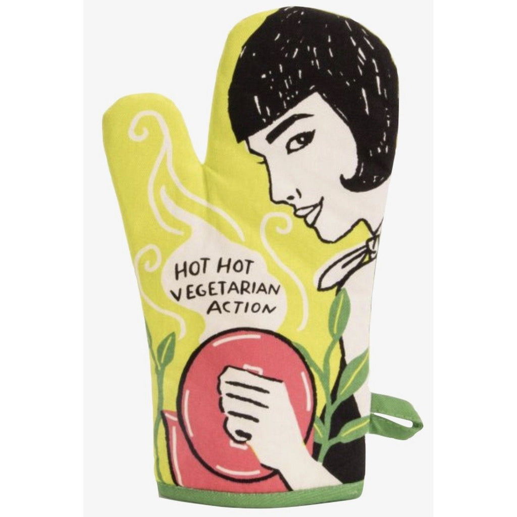 Hot, Hot Vegetarian Action Oven Mitt