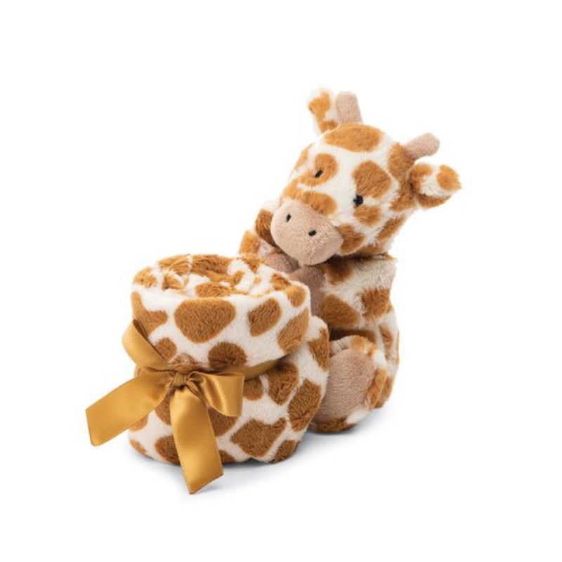Jellycat Bashful Giraffe Soother Blanket