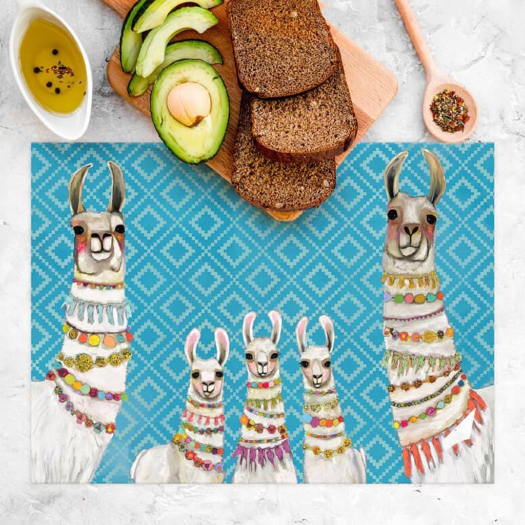 Necklaces Llamas Vinyl Placemat