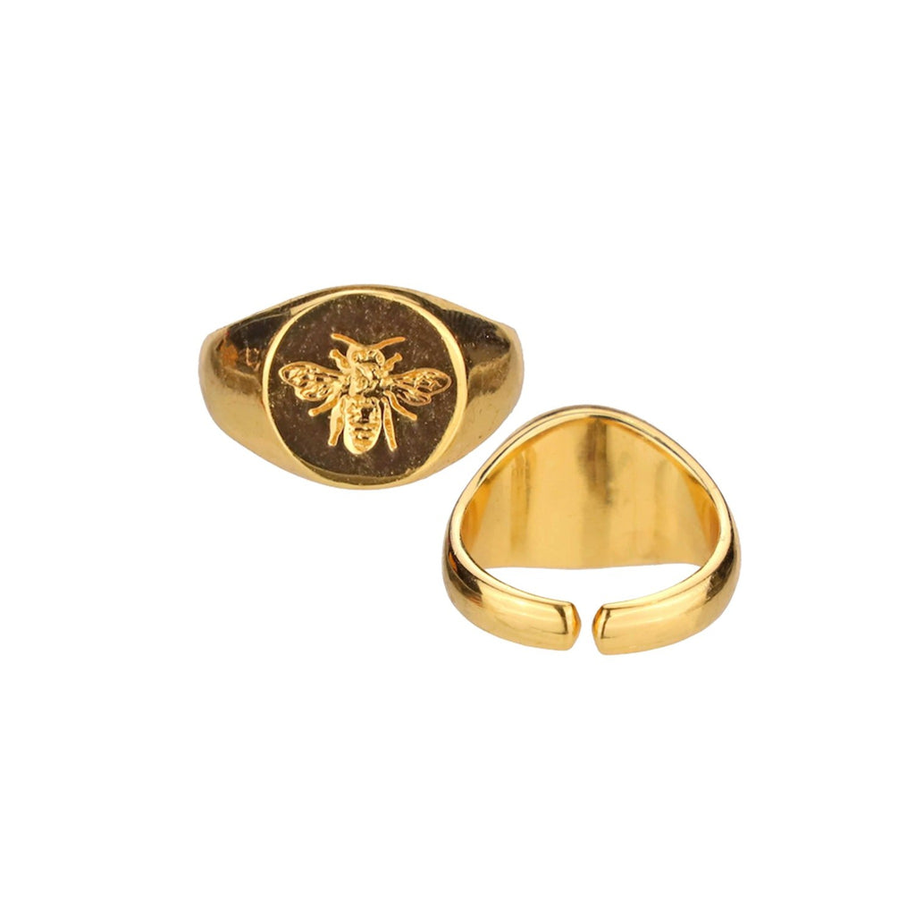 BuDhaGirl: Gold Queen Bee Ring