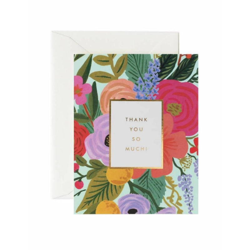 Garden Party Thank You - Greeting Card