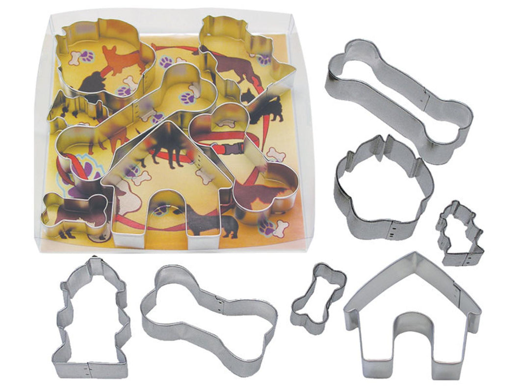 Dog Bone 7 Piece Cookie Cutter Set