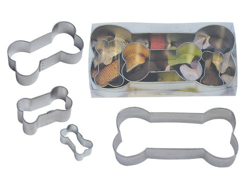 Dog Bone 4 Piece Cookie Cutter Gift Set