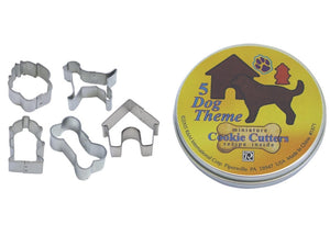 Mini Dog 5 Piece Cookie Cutters