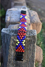 Malkia Beaded Dog Collar