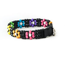 Flower Power Beaded Dog Collar
