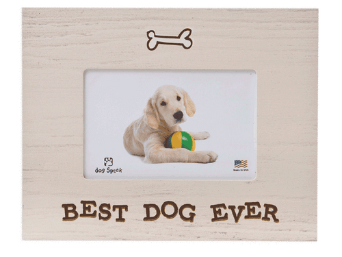 Best Dog Ever Photo Frame