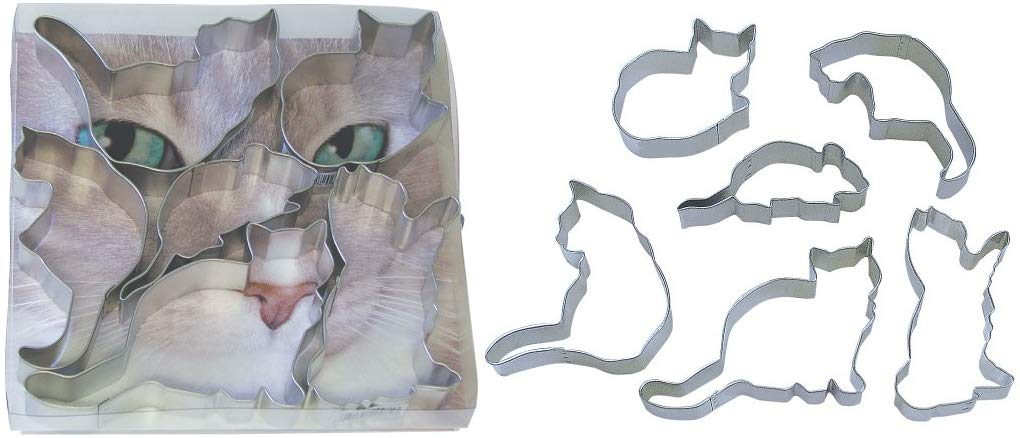 Cat's Away Theme Cookie Cutters