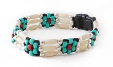 Comanche Flower Beaded Dog Collar
