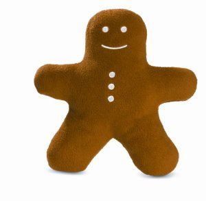 Gingerbread Buddy Dog Toy