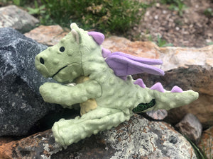 Go Dog Lime Dragon Dog Toy