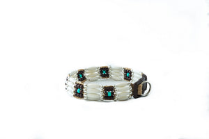Hopi Beaded Dog Collar