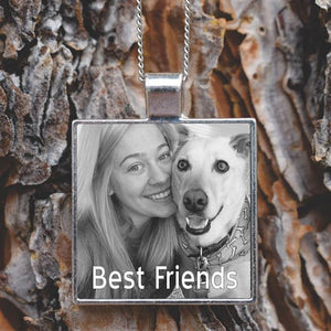 Custom Photo Pet Pendant Necklace