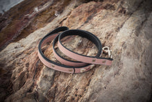 Pink Crystal and Leather Dog Leash