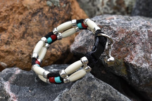Comanche Beaded Cat Collar