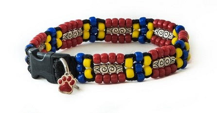 Southwest Beaded Dog Collar