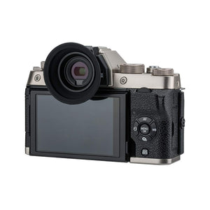 KE-XT100 Camera Eyecup for Fujifilm X-T100 (Installed and Secured via Camera Hot Shoe)