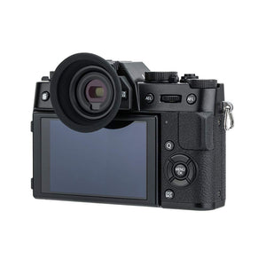 Maxsimafoto - KE-XT20 Camera Eyecup for Fujifilm X-T30, X-T20, X-T10 (Installed and Secured via Camera Hot Shoe)