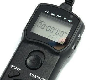 Maxsimafoto - LCD Timer Remote Switch control cord for Panasonic Lumix Cameras.