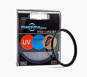 Maxsimafoto - Professional 52mm Multi-coated UV filter and lens protector.