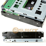 "Maxsimafoto - 2.5"" SSD to 3.5"" SATA Hard Disk Drive HDD Adapter CADDY TRAY CAGE Hot Swap Plug"