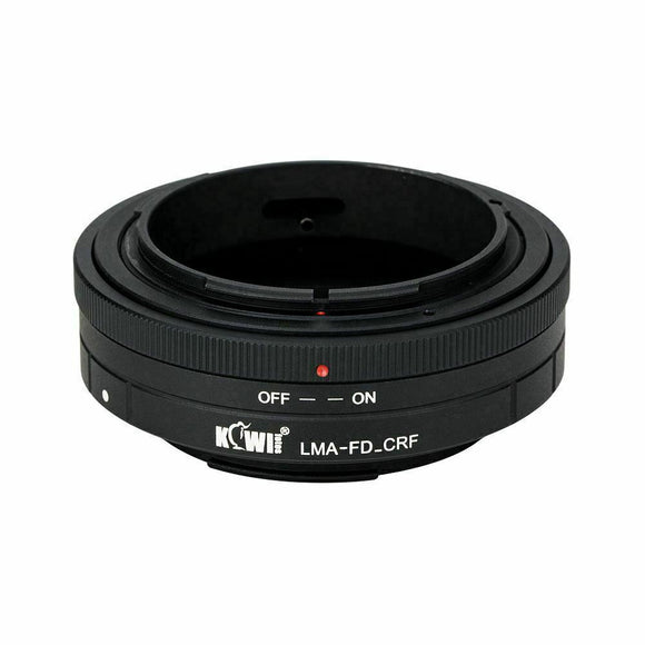 JJC LMA-FD_CRF Lens Mount Adapter for Canon FD Lens to Canon RF Mount Body