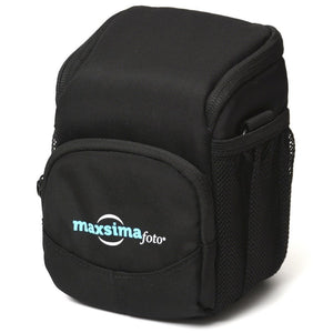 Maxsimafoto - Camera Case / Bag for Compact Cameras with small Lens or bridge cameras.