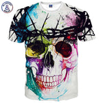 New Men's Fashion Collection Cool 3D Print T-Shirts