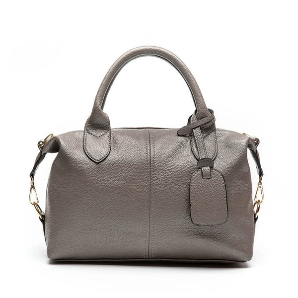 New Luxury Designer Collection Leather Women Top-Handle Shoulder Bag