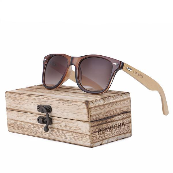 New Collection Designer HandMade Bamboo Sunglasses