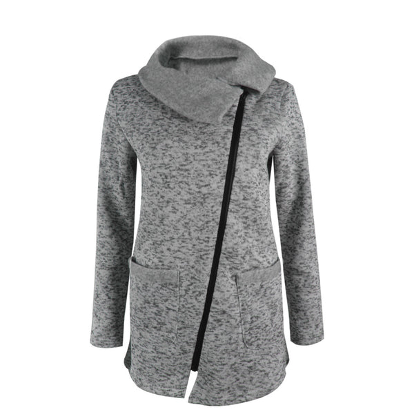 New Winter Collection Warm Fleece Hoodie Ladies Jacket