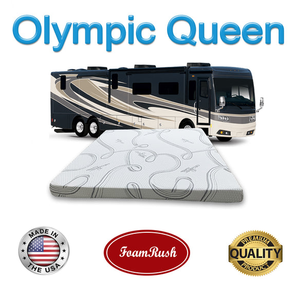 Olympic Queen Gel Foam Mattress Replacement