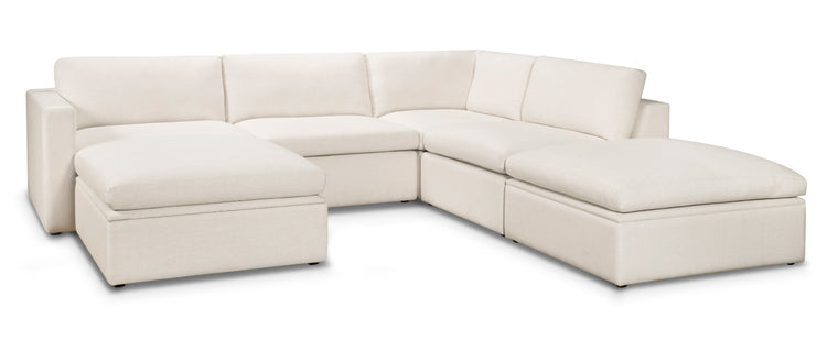 Toronto Sectional Sofa Custom Upholstered Made in Canada