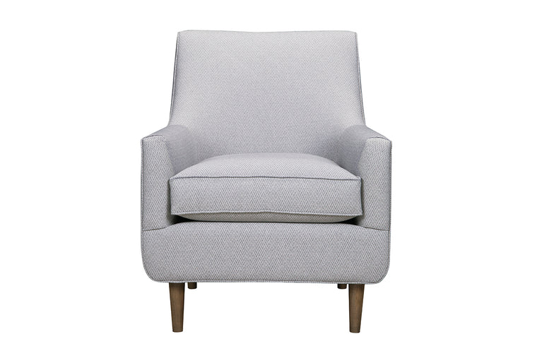 Toronto Armchair Custom Upholstered Made in Canada