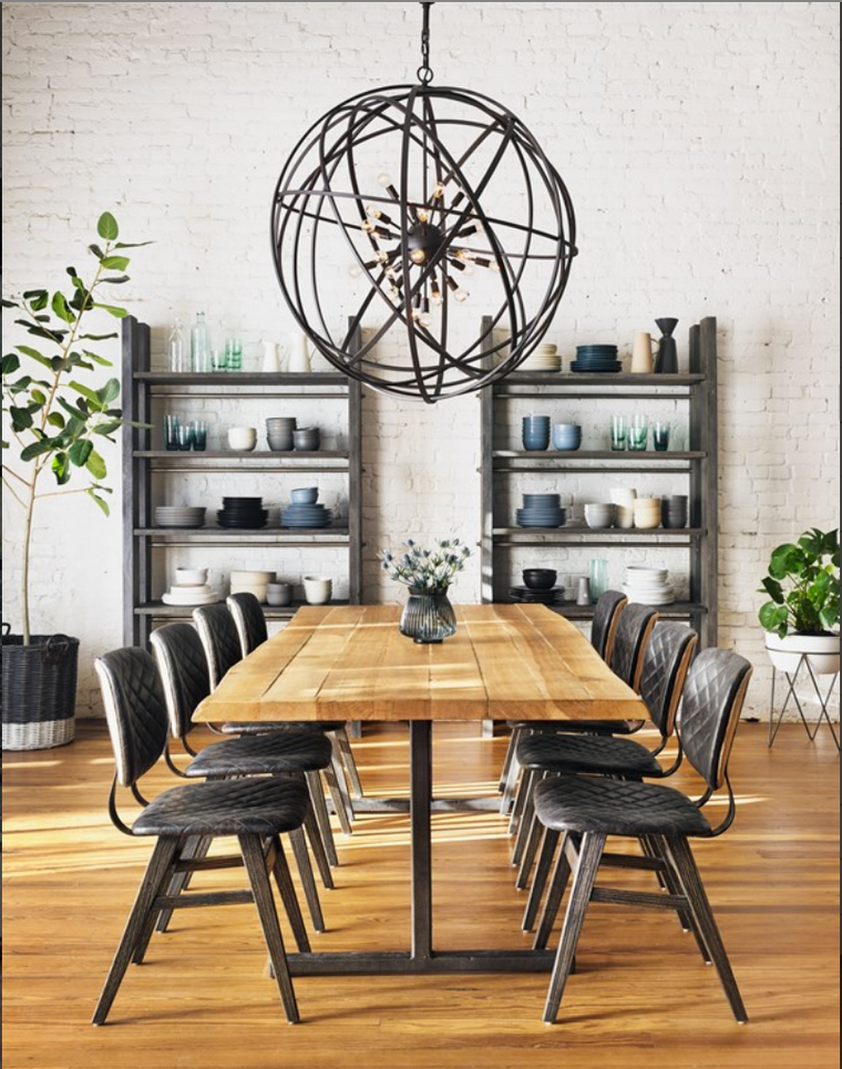 Toronto Dining Room Furniture Round Rectangular Extendible Extension Leaf Dining Table Chairs Cabinet Sideboard Buffet Modern Contemporary Traditional